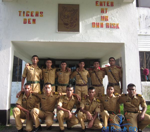 Cadet college Students