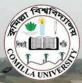 Comilla University logo
