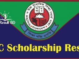 SSC Scholarship Result 2020