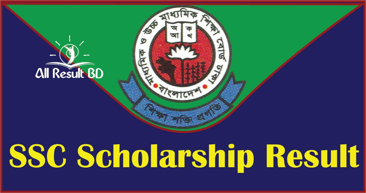 SSC Scholarship Result 2015 Bangladesh All EDU Board