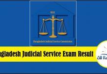 13th BJSC Result 2018 Bangladesh Judicial Service