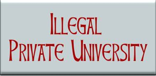 Illegal Private University