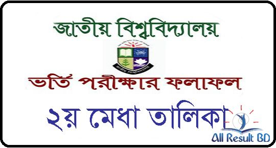 Honours Admission 2nd Merit Result