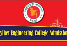 Sylhet Engineering College Admission
