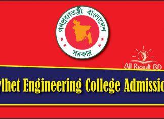Sylhet Engineering College Admission