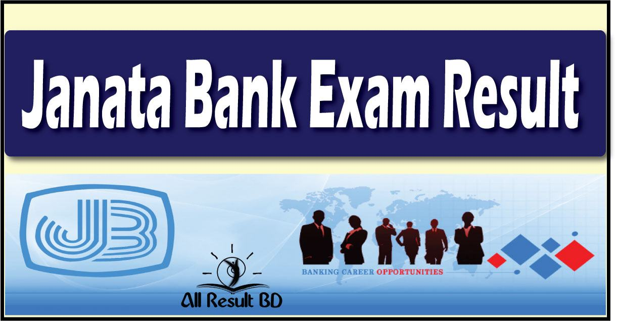 Janata Bank Written Exam Result