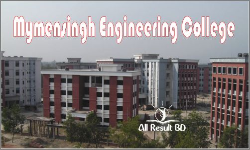 Mymensingh Engineering College Admission Result Notice 2014-15