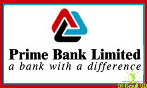 Prime Bank Bangladesh Job Circular