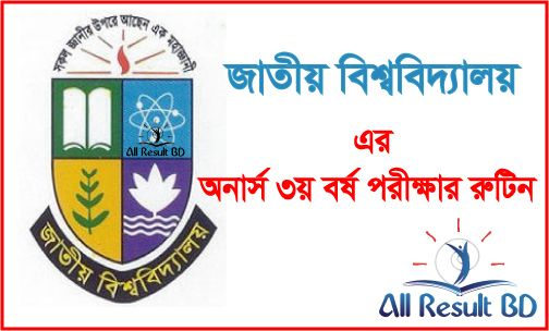 Honours 3rd year exam routine