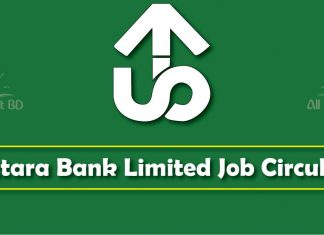 uttara bank job circular 2017