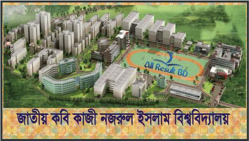 Jatiya Kabi Kazi Nazrul Islam University Admission