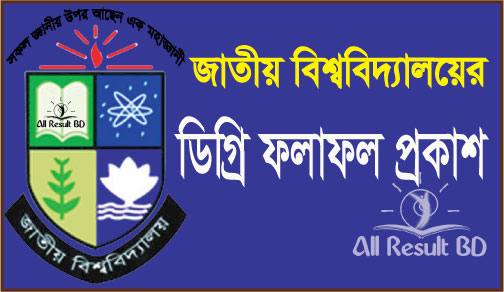 National University Degree Pass Exam Result 2014