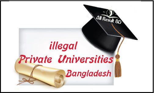 5 Illegal Private Universities