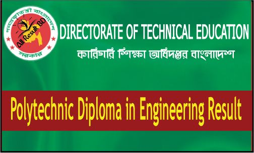 Polytechnic diploma in engineering result