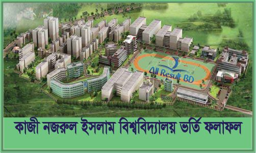 Jatiya Kabi Kazi Nazrul Islam University Admission Test Result