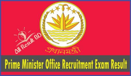 Prime Minister Office Recruitment Exam Result