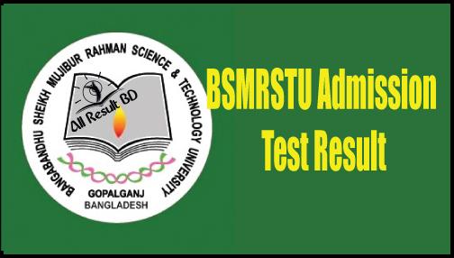 BSMRSTU Admission Test Result and Seat Plan 2016-2017