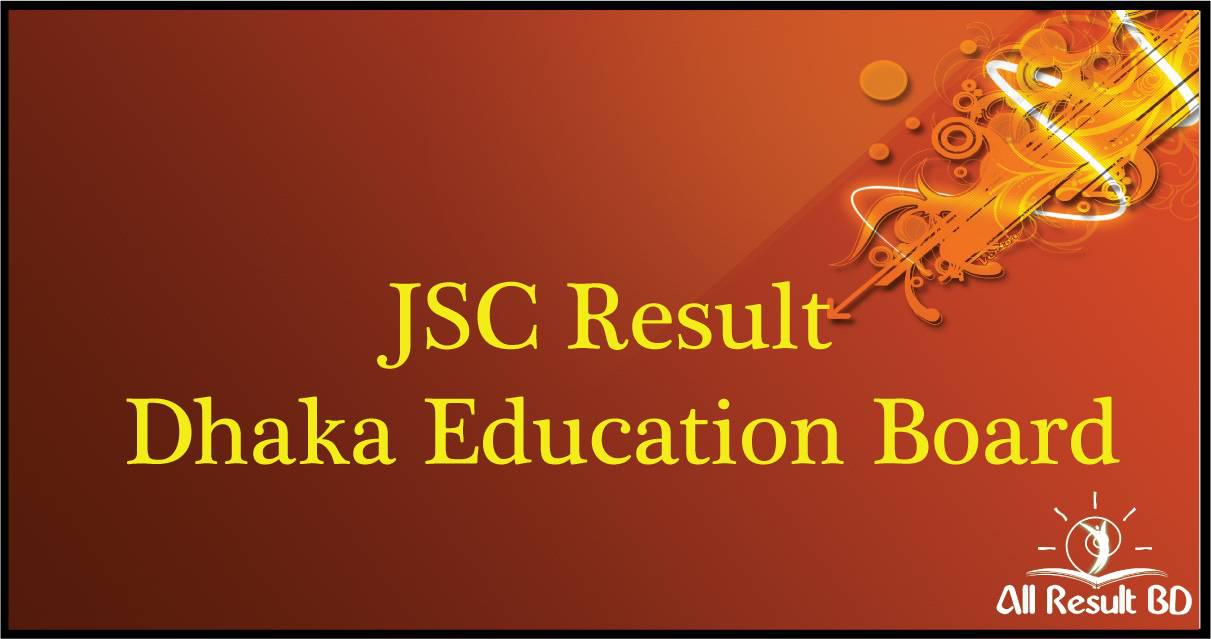 JSC Result 2017 Dhaka Education Board