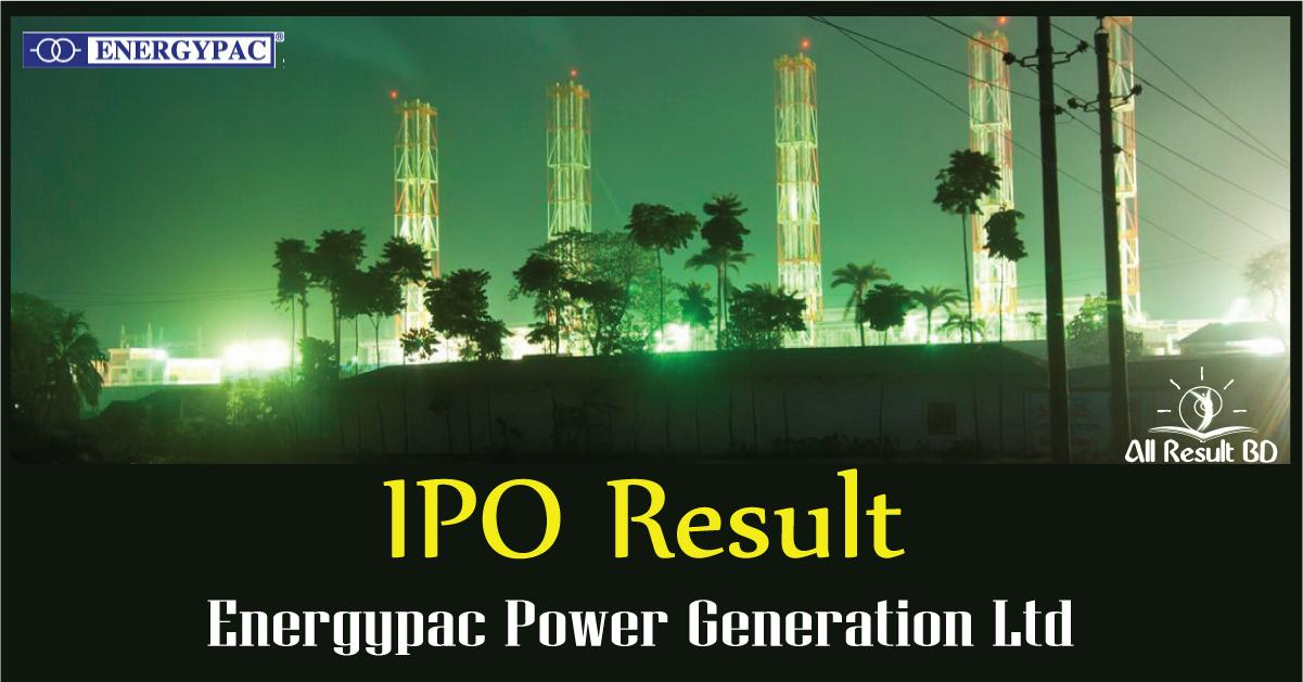 Energypac Power Generation IPO