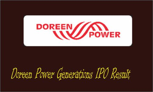 Doreen Power Generations IPO Result