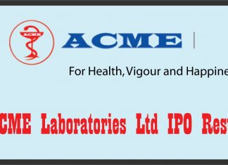 ACME Laboratories Ltd IPO Result