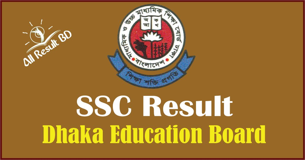 SSC Result Dhaka Education Board