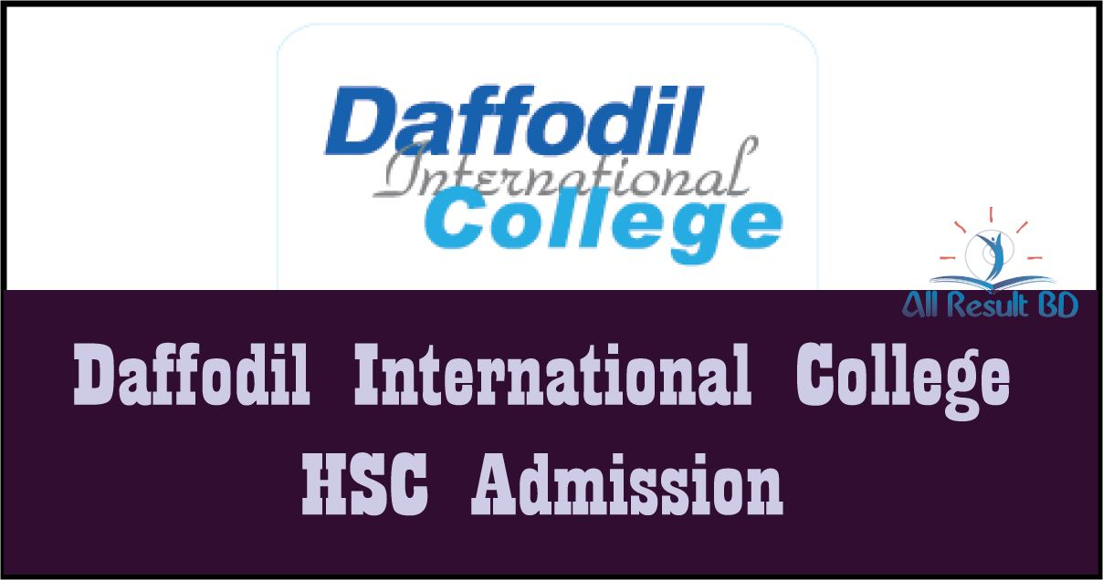Daffodil International College HSC Admission