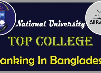 National University Top College Ranking