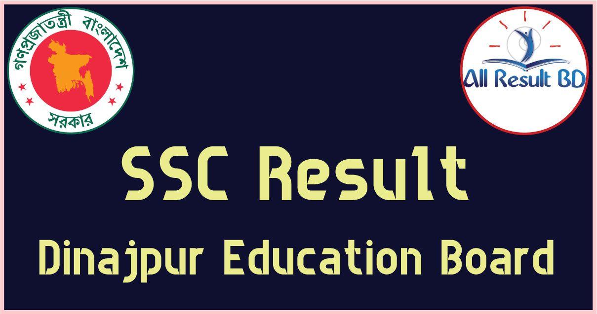 SSC Result Dinajpur Board 2017