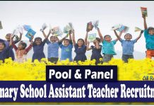 Primary School Assistant Teacher Recruitment