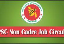 BPSC.GOV.BD Non Cadre Job Circular