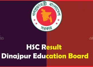 HSC Result Dinajpur Education Board