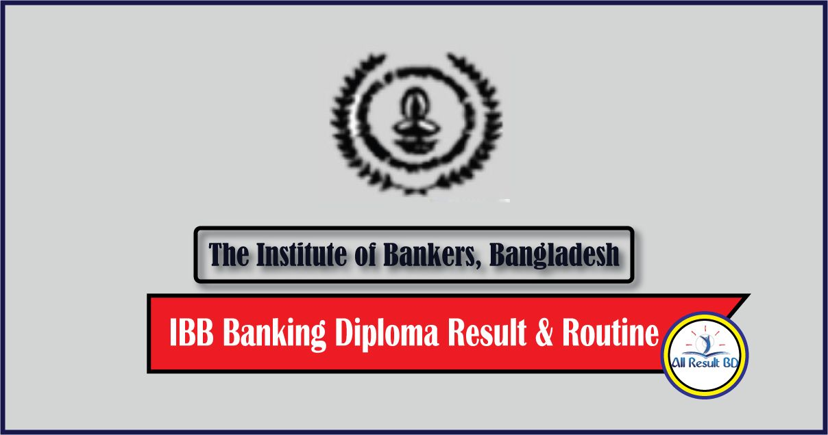 87th IBB Banking Diploma Result
