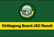 JSC Result Chittagong board
