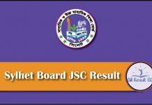 Sylhet Board JSC Result
