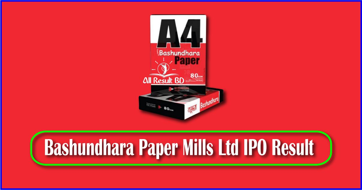 Bashundhara paper ipo result