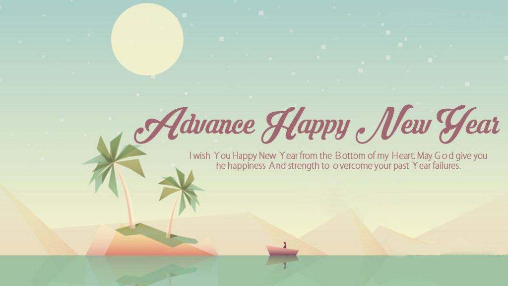 Advance new year wish