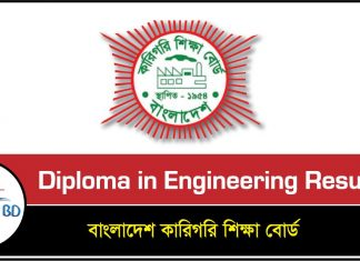 Diploma in Engineering Result