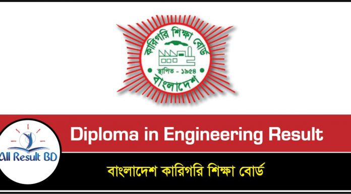 Diploma in Engineering Result