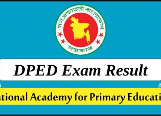 DPED Exam Result 2019