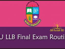 NU LLB Final Exam Routine
