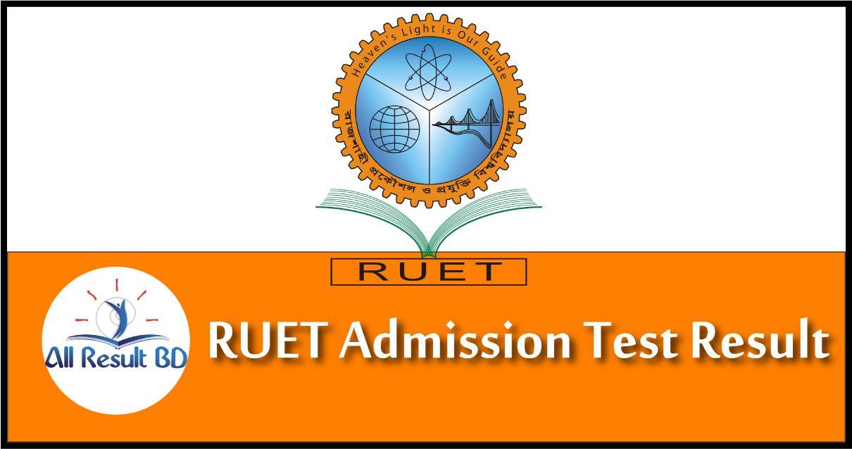RUET Admission Test Result