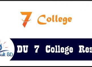 7 college result