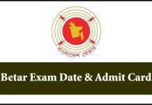 Betar Exam Date