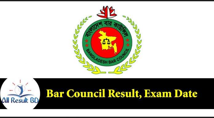 Bar Council Exam Result