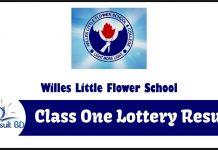 Willes Little Flower School Admission result