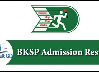 BKSP Admission Result