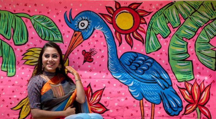 Pohela Boishakh girl