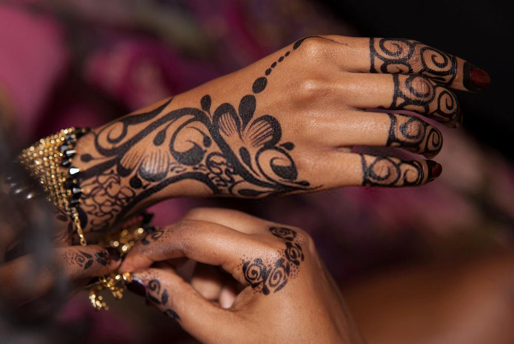 new Arabic Mehndi Design