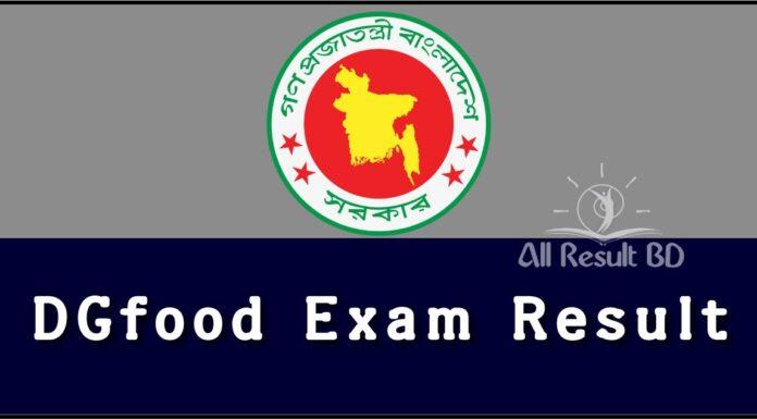 DGFood Exam Result